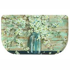 Blossom Jar Memory Foam Kitchen Mat
