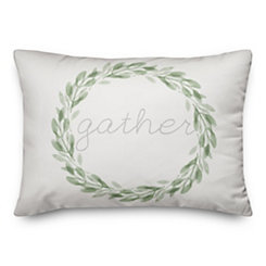 Gather Wreath Pillow