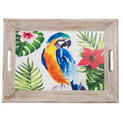 Parrot Wooden Tray