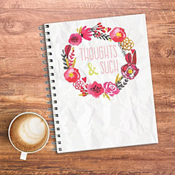 Thoughts & Such Floral Journal