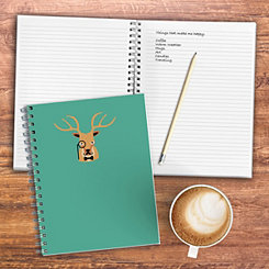 Teal Oh Deer Wired Journal