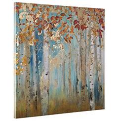 Birch Beauties II Hand Painted Canvas Art Print