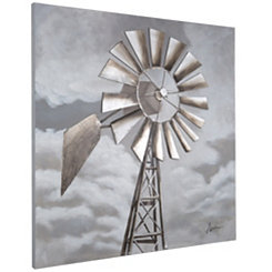 Tornado Alley 3D Hand Painted Canvas Art Print