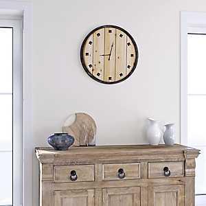 Bastide du Provence Wood Wall Clock