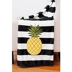 Pana Pineapple Micromink Throw Blanket