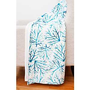 Tonga Coral Micromink Throw Blanket