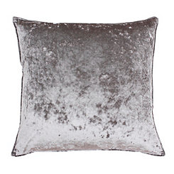 Ibenz Gray Ice Velvet Pillow