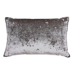 Ibenz Gray Ice Velvet Accent Pillow