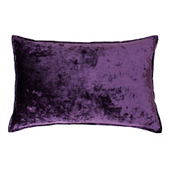 Ibenz Vintage Violet Ice Velvet Accent Pillow