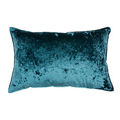 Ibenz Pacific Ice Velvet Accent Pillow