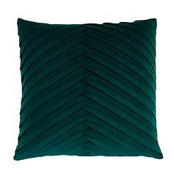Green Pleated Velvet Pillow