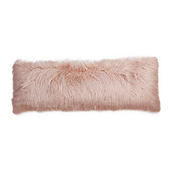 Rose Mongolian Fur Body Pillow