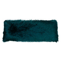 Teal Mongolian Fur Body Pillow