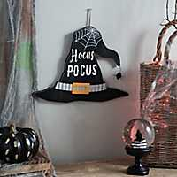Hocus Pocus Witch Hat Sign