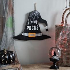 Hocus Pocus Witch Hat Sign