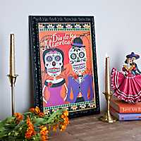 Day of the Dead Sugar Skull Framed Print