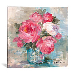 Summer Roses I Canvas Art Print