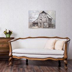 The Barn Canvas Art Print