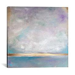 Lavender Smoke Canvas Art Print