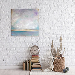 Lavender Smoke Canvas Art Print
