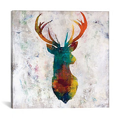 Painted Trophy Canvas Art Print
