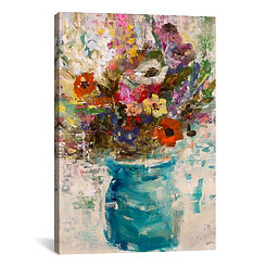 Vase Study Canvas Art Print