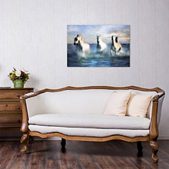Wild Horses Canvas Art Print