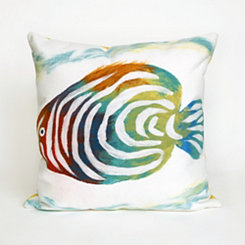 Colorful Fish Pillow