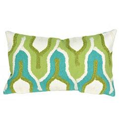 Green Minaret Accent Pillow