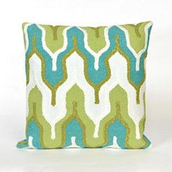 Green Minaret Pillow