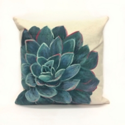 Ivory Magnificent Bloom Pillow