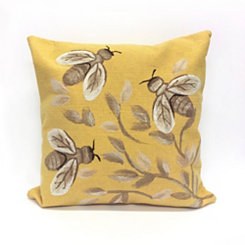 Yellow Bee Pillow
