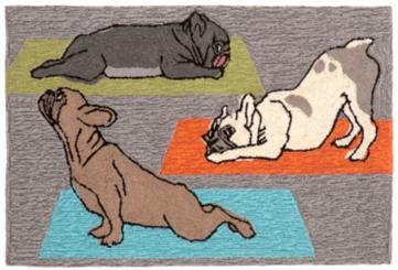 Hatha Pups Outdoor Mat