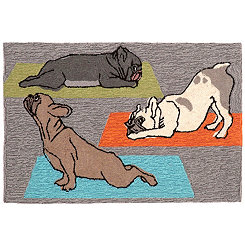 Hatha Pups Outdoor Mat