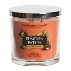 Halloween Pumpkin Patch Jar Candle