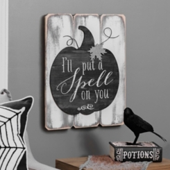 Put a Spell on You Wood Plaque