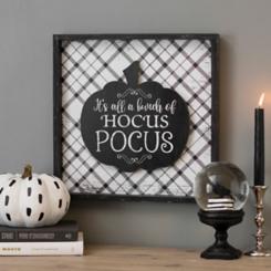 Bunch of Hocus Pocus Framed Plaque