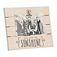You Are My Sunshine Picture Frame with Clip, 4x6