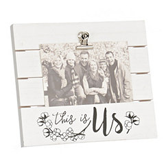 This is Us Picture Frame with Clip, 4x6