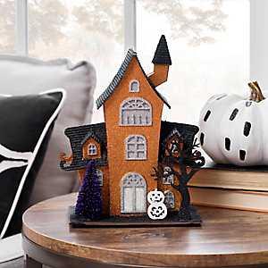 Orange LED Haunted House