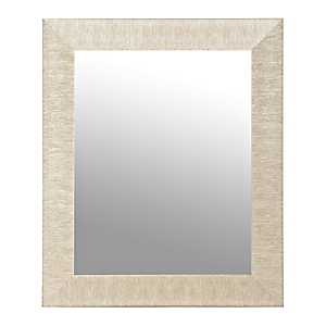 Textured Silver Framed Mirror, 30x40 in.