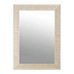 Textured Silver Framed Mirror, 32x44 in.