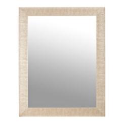 Textured Silver Framed Mirror, 37.5x47.5 in.