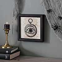 Eyeball Pocket Watch Framed Print
