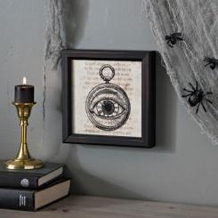 Eyeball Pocket Watch Framed Print