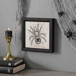 Eyeball Spider Framed Print