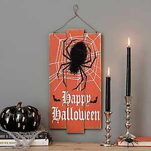 Happy Halloween Spider String Art