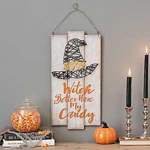 Witch Better Have My Candy String Art
