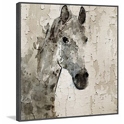 Galetta Horse Embellished Canvas Art Print