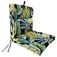 Hatteras Ebony Outdoor Dining Chair Cushion